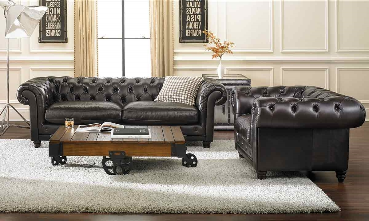 Haynes Furniture, Virginia's Furniture Store Pertaining To Tufted Leather Chesterfield Sofas (View 4 of 20)
