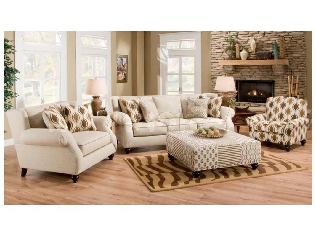 Hazel Simply Linen 4 Pc Sofa Set (Sofa, Chair, Accent Chair And In Favorite Sofa And Accent Chair Sets (View 2 of 20)