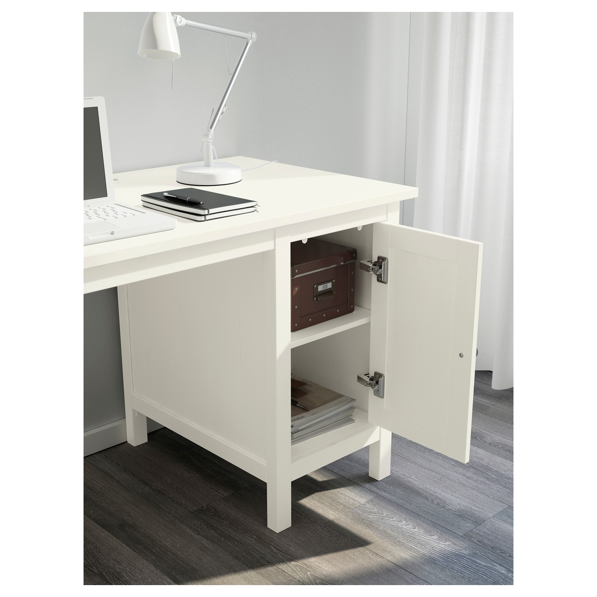 Hemnes Desk – Black Brown – Ikea With Regard To Trendy Computer Desks In White (View 16 of 20)