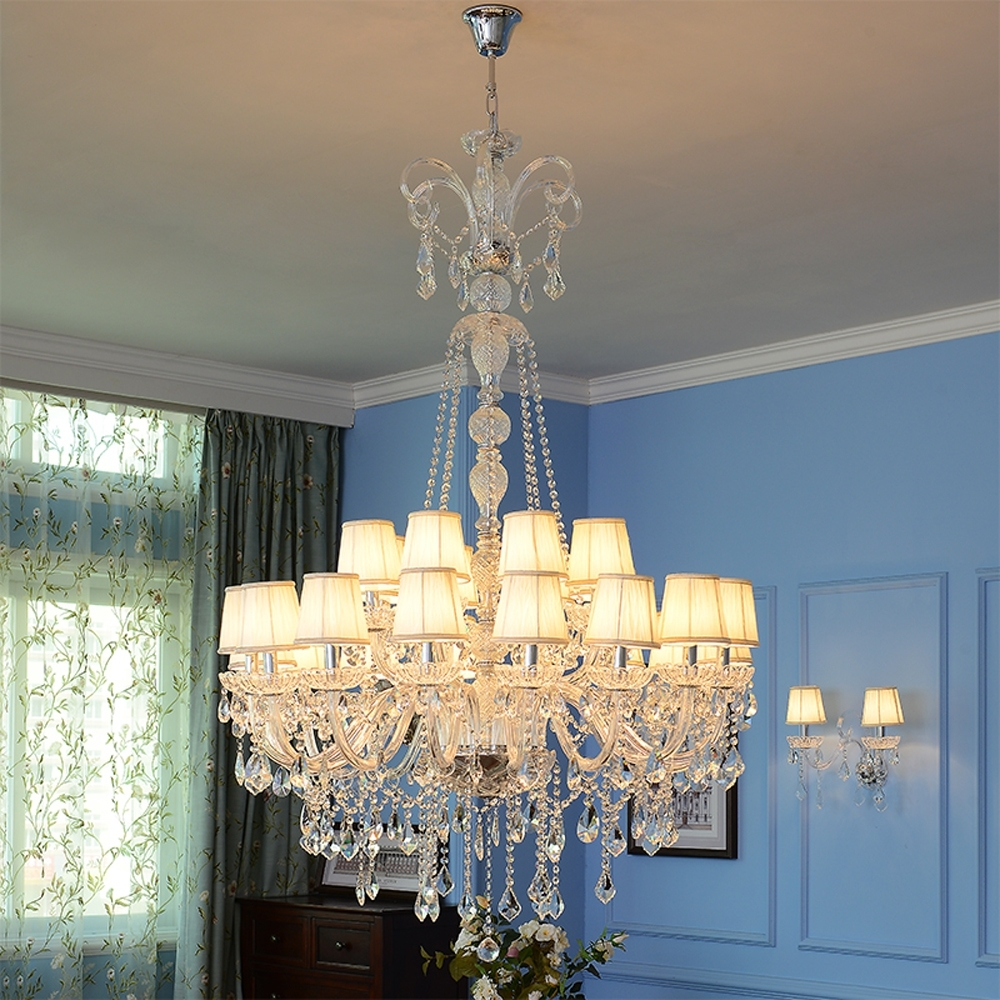 High Ceiling Chandeliers Crystal Ball Chandelier Modern Staircase With Recent Stairwell Chandeliers (View 4 of 20)
