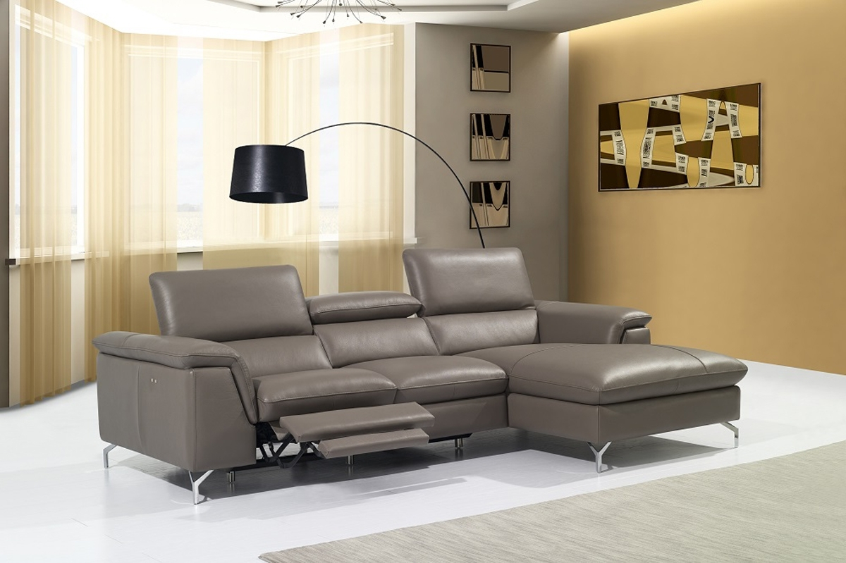 High End Curved Sectional Sofa In Leather Hialeah Florida J&m Regarding Recent High End Sectional Sofas (View 7 of 20)