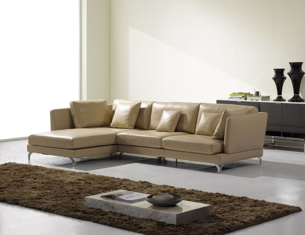 High End Leather Sectional Sofas With Regard To 2019 Italian Leather Sectional Sofa Set — The Clayton Design : Modern (View 4 of 20)