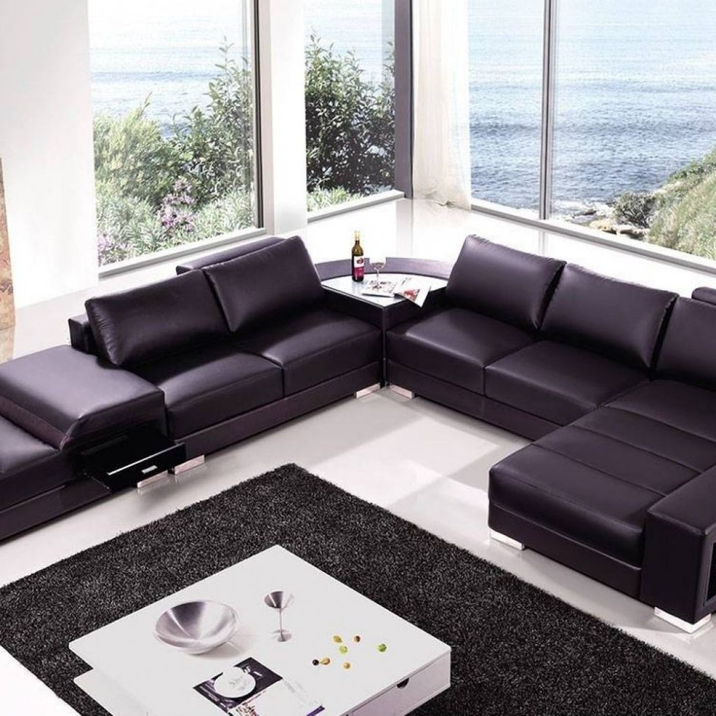 High End Sectional Sofas With Regard To Widely Used Sectional Sofa : Wicker Sectional 3 Piece Sectional Sofa Curved (View 12 of 20)