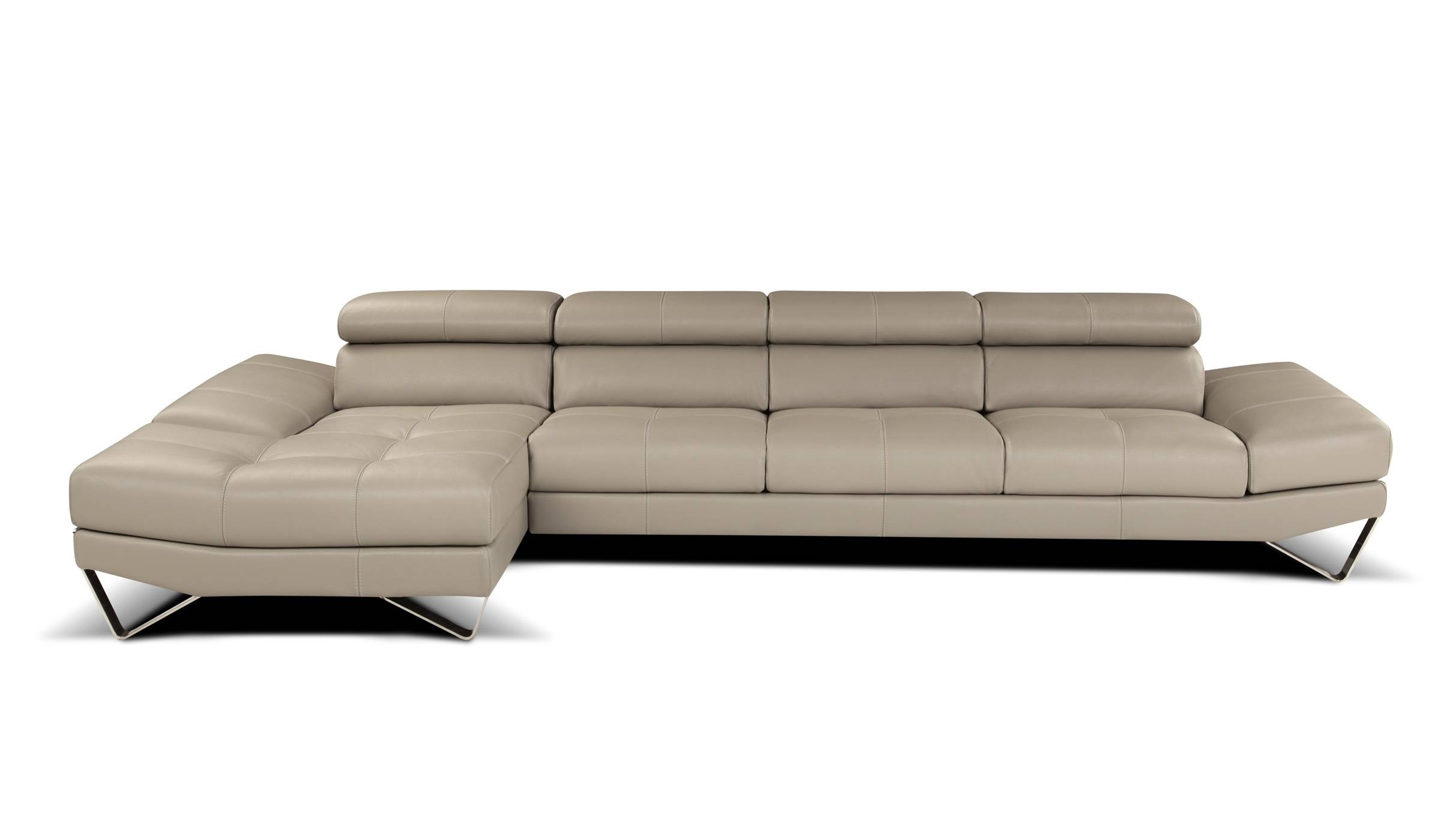 High End Sofas Intended For Well Liked Sophisticated All Italian Leather Sectional Sofa Spokane (View 5 of 20)