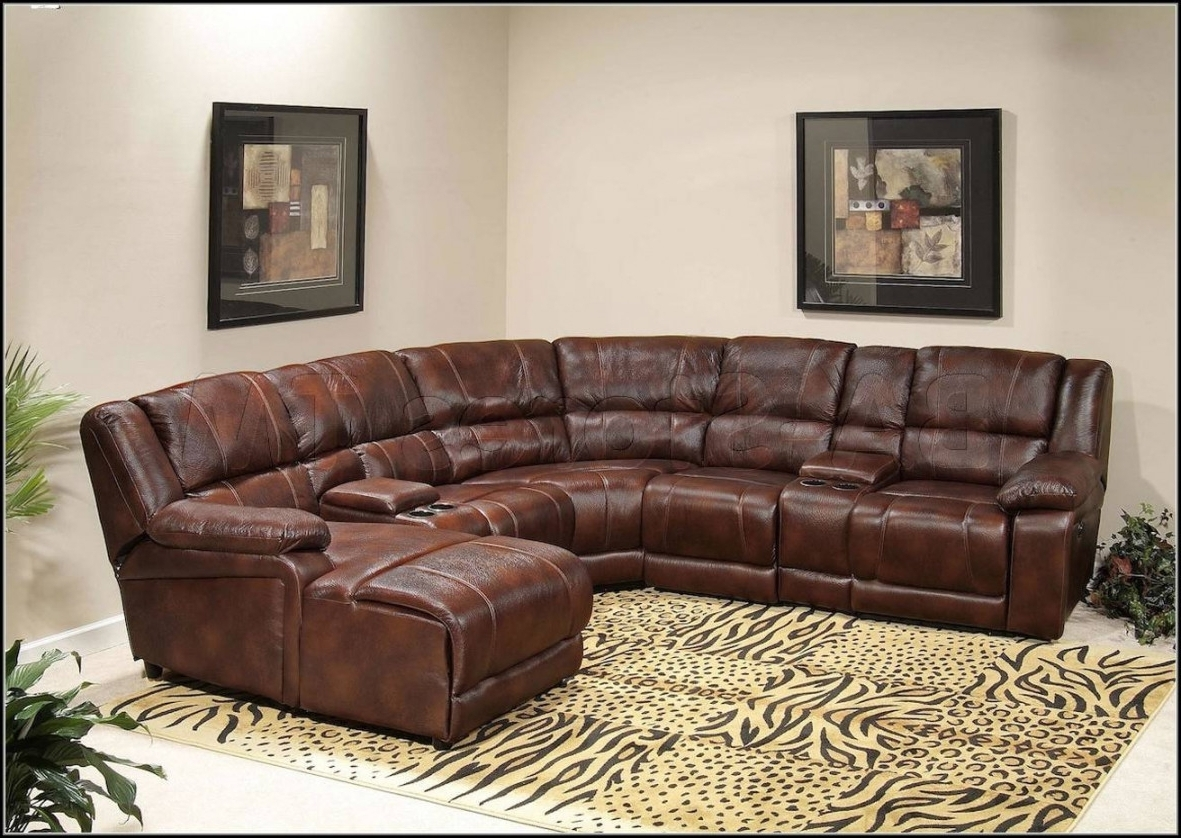 Home Design And Pertaining To Newest Sectional Sofas With Recliners (View 6 of 20)