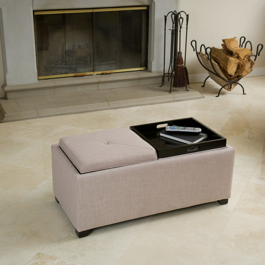 Home Design And With Regard To Ottomans With Tray (View 9 of 20)