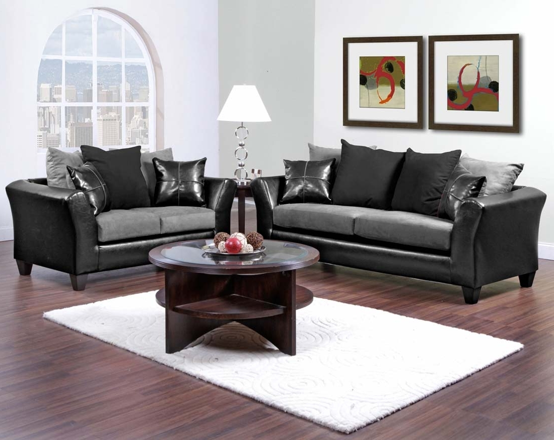 Home Design Ideas In Latest Cheap Black Sofas (View 12 of 20)