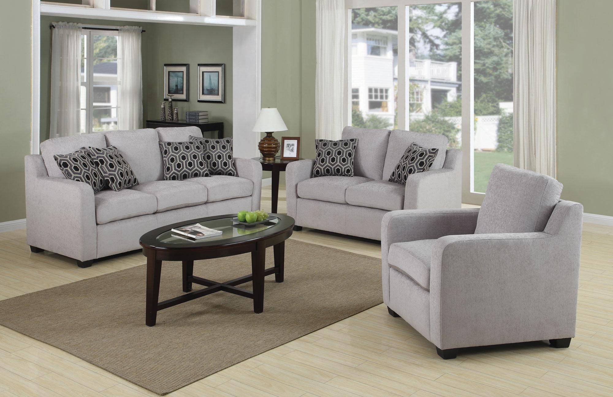 Home Design Ideas Inside Fashionable Grey Sofa Chairs (View 3 of 20)