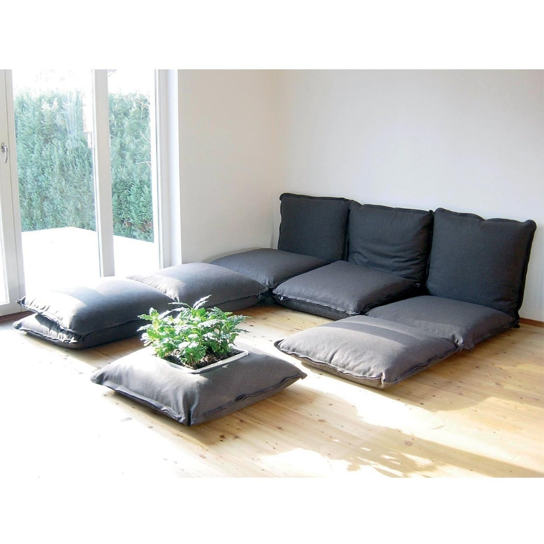 Home Furnishings Inside Preferred Floor Cushion Sofas (View 12 of 20)