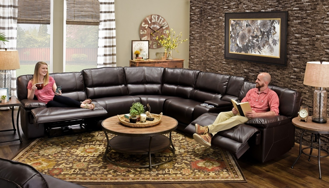 Home Zone Sectional Sofas Regarding Recent Kennedy Chocolate Sectional – Home Zone Furniture (View 6 of 20)