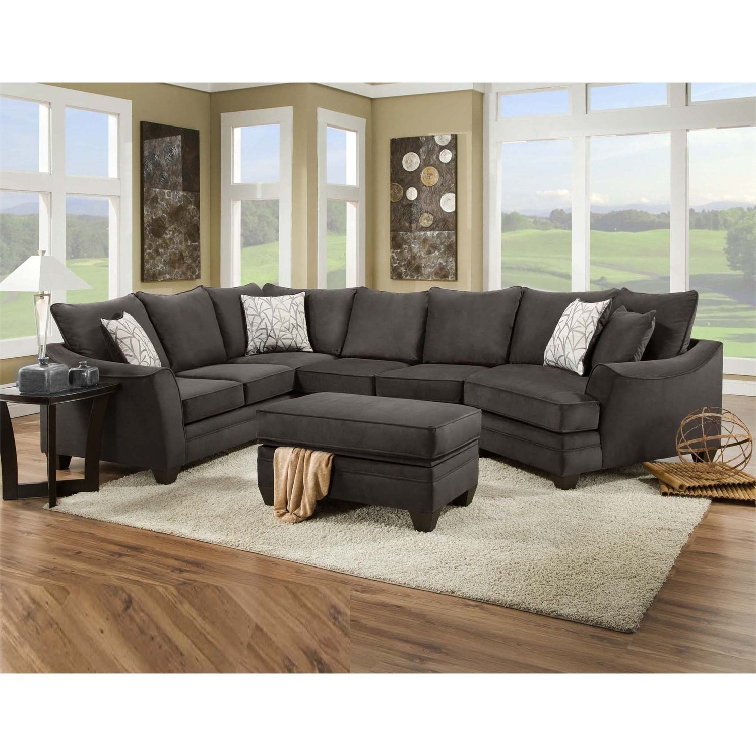 Homeclick Throughout Home Furniture Sectional Sofas (View 3 of 20)