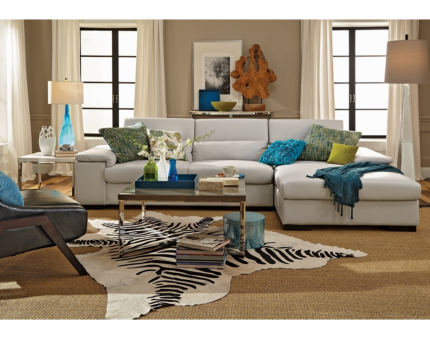 Homeroom Furniture Kansas City Gaines Outlet Throughout Cur Sectional Sofas View