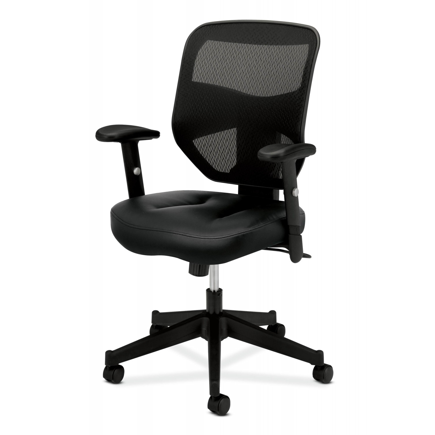 Hon Executive Office Chairs Pertaining To Recent Buy Hon Basyxhon Hvl531 Mesh High Back Leather For $ (View 14 of 20)