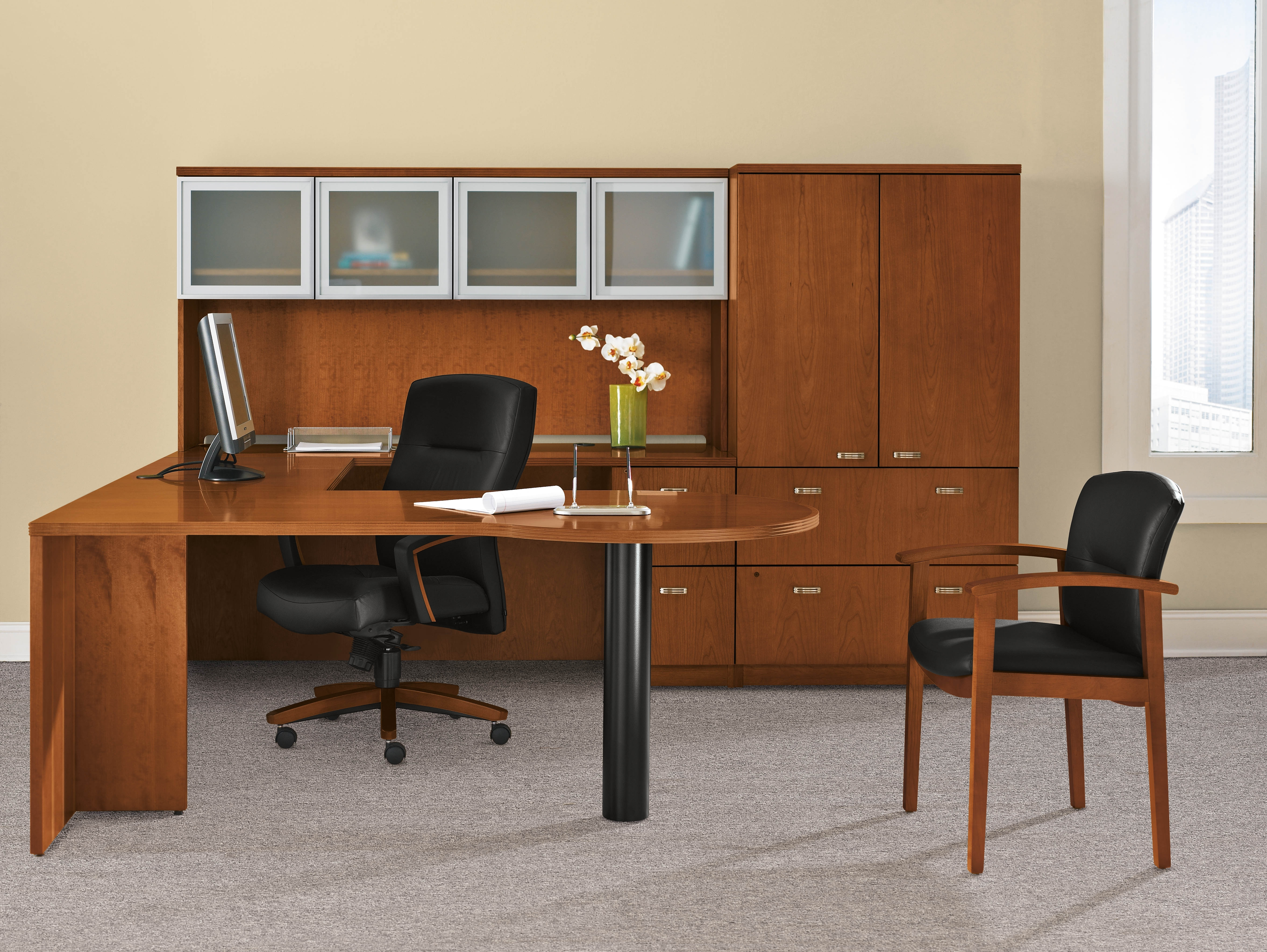 Hon Executive Office Chairs Throughout 2019 Executive Desks Cincinnati, Executive Office Furniture Cincinnati (View 15 of 20)