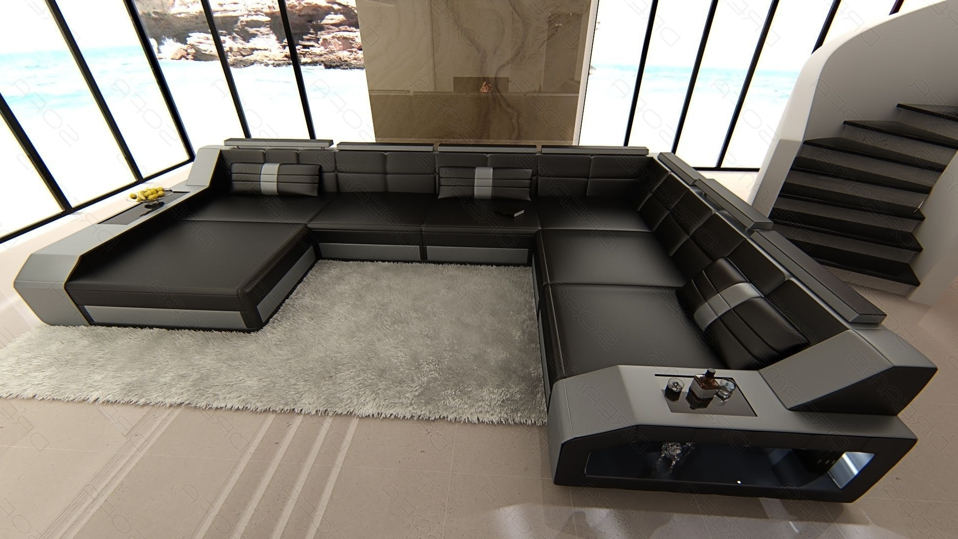 Houston Sectional Sofas Throughout Well Known Sectional Leather Sofa Houston Xl (View 14 of 20)
