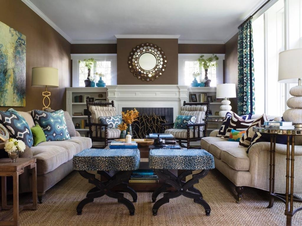 Houzz Living Rooms With Sectionals — Optimizing Home Decor Ideas Throughout Most Recent Houzz Sectional Sofas (View 8 of 20)