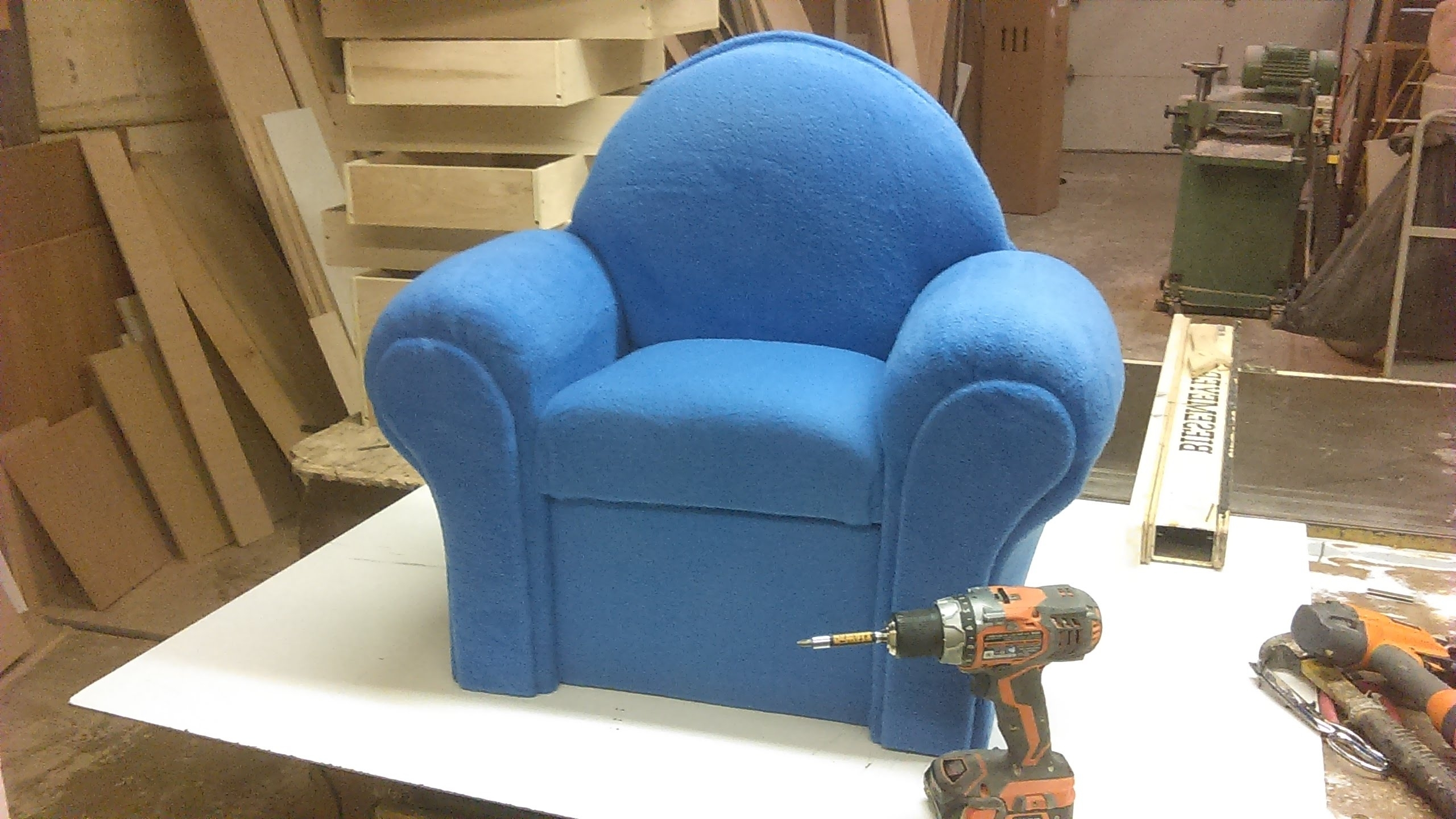 How I Make A Small Couch Chair – Youtube Throughout Best And Newest Small Sofas And Chairs (View 6 of 20)