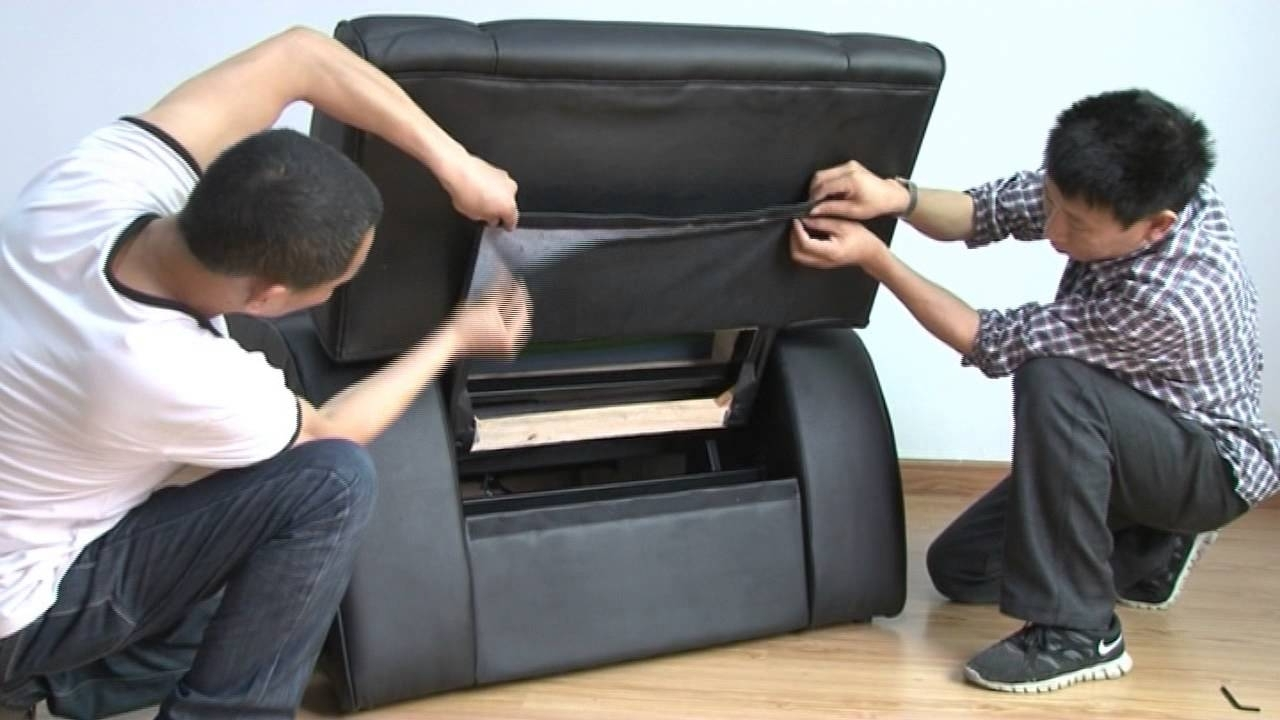 How To Install Foot Massage Sofa Fb05 – Youtube Regarding Well Liked Foot Massage Sofas (View 17 of 20)