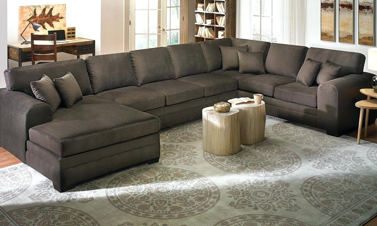 Huge Sofas Intended For Most Recent Oversized Sectional Sofa – Jasonatavastrealty (View 11 of 20)