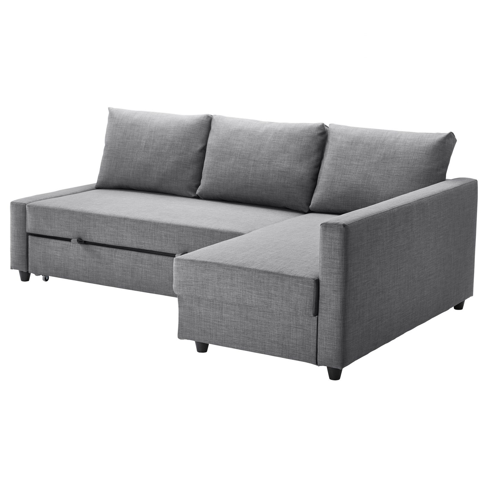 Ikea Corner Sofas With Storage With Most Up To Date Friheten Corner Sofa Bed With Storage – Skiftebo Dark Gray – Ikea (View 7 of 20)