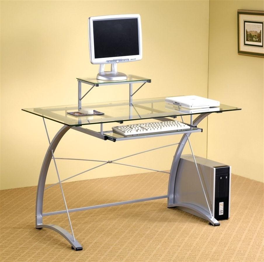 Ikea Glass Computer Desks Regarding Trendy Glass Computer Desk Ikea — Desk Design : Best Wooden Computer Desk (View 12 of 20)