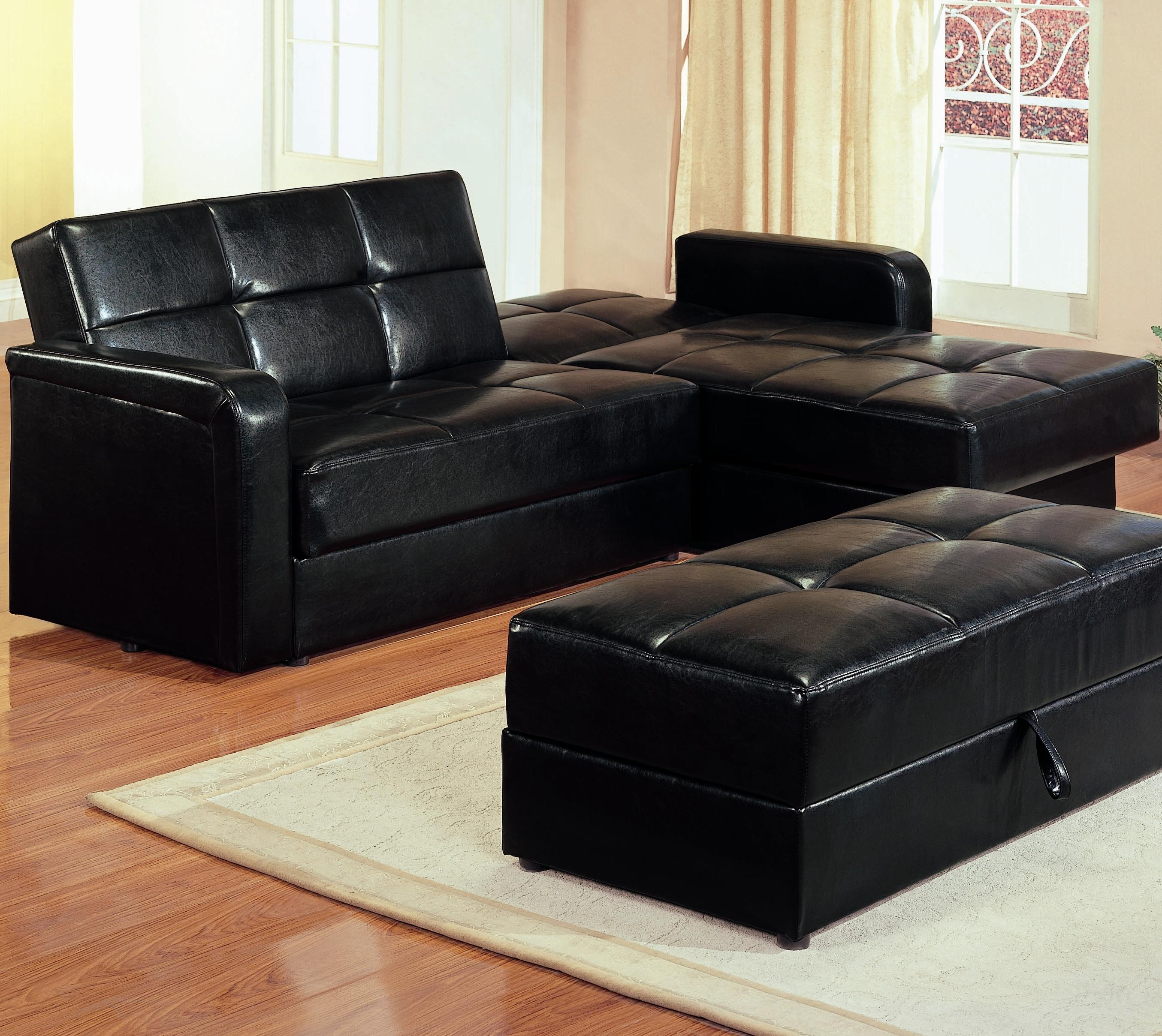 Ikea Sleeper Sectional Couch With Storage And Bed Click Clack Sofa Intended For Most Up To Date Leather Sofas With Storage (Gallery 14 of 20)