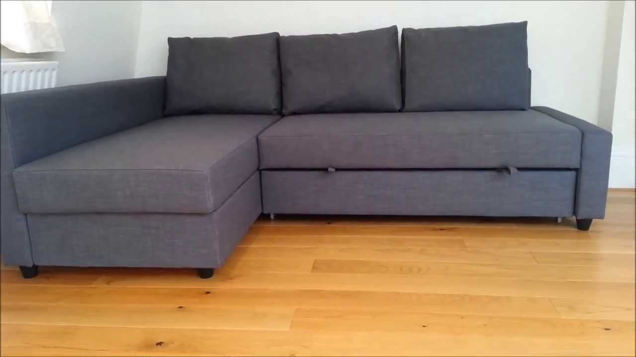 Ikea Sofa Bed – Youtube Within Most Popular Ikea Sectional Sofa Beds (Gallery 2 of 20)