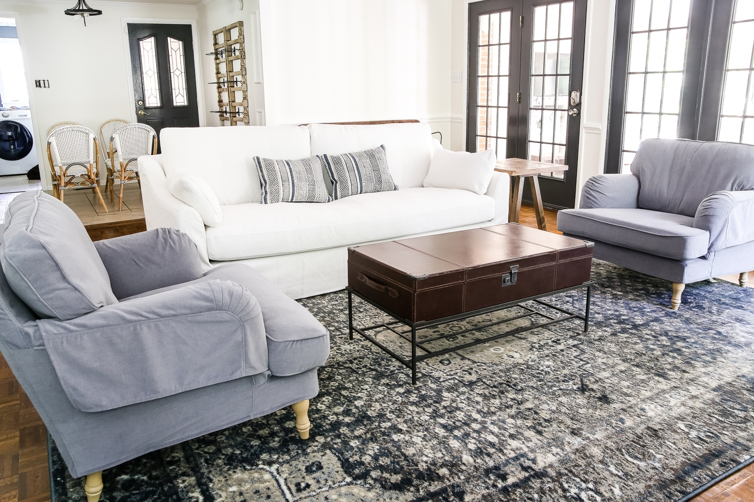 Ikea's New Sofa And Chairs And How To Keep Them Clean – Bless'er House In Widely Used Sofa With Chairs (View 7 of 20)
