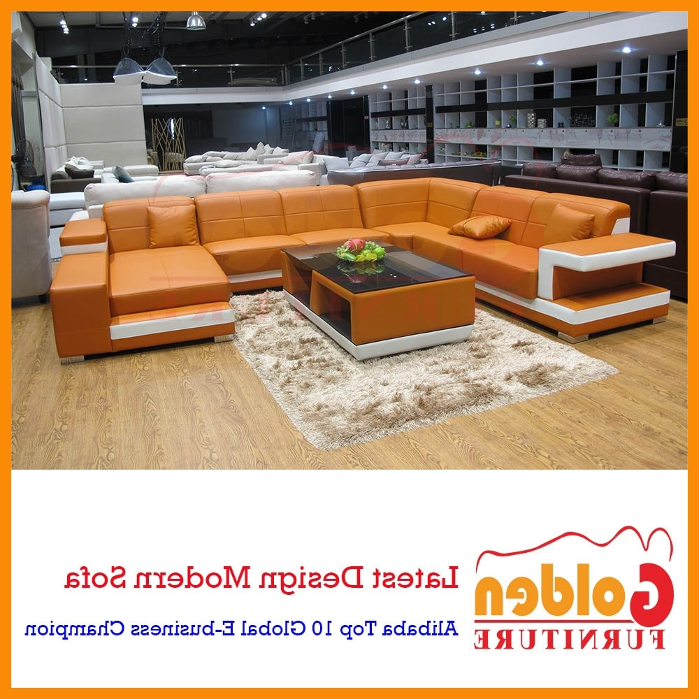 Import Leather Sofa C Shaped Corner Sofa Design A826# – Buy In Most Popular C Shaped Sofas (View 16 of 20)