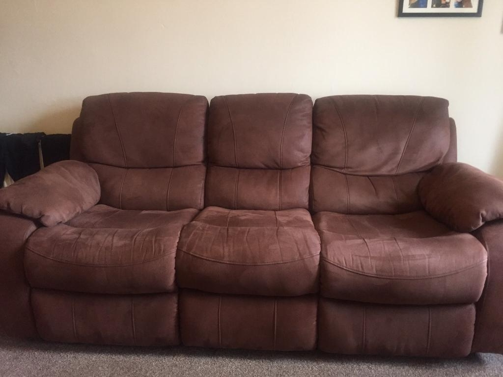 In Whiteinch Within Faux Suede Sofas (View 2 of 20)