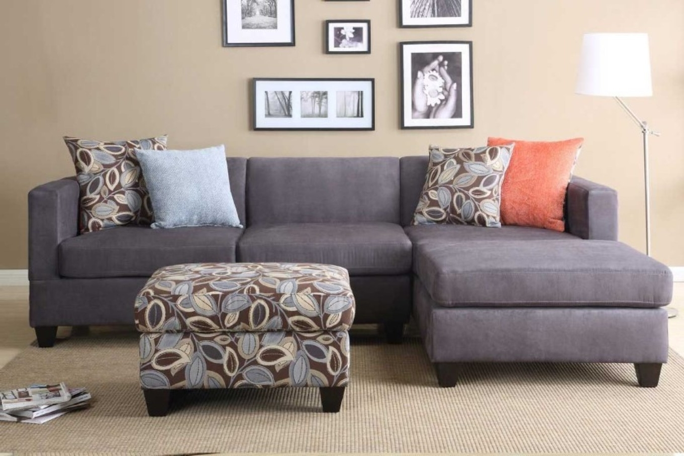 Incredible Microfiber Sleeper Sofa Top Home Design Ideas With Grey Regarding Most Up To Date 3 Piece Sectional Sleeper Sofas (View 6 of 20)