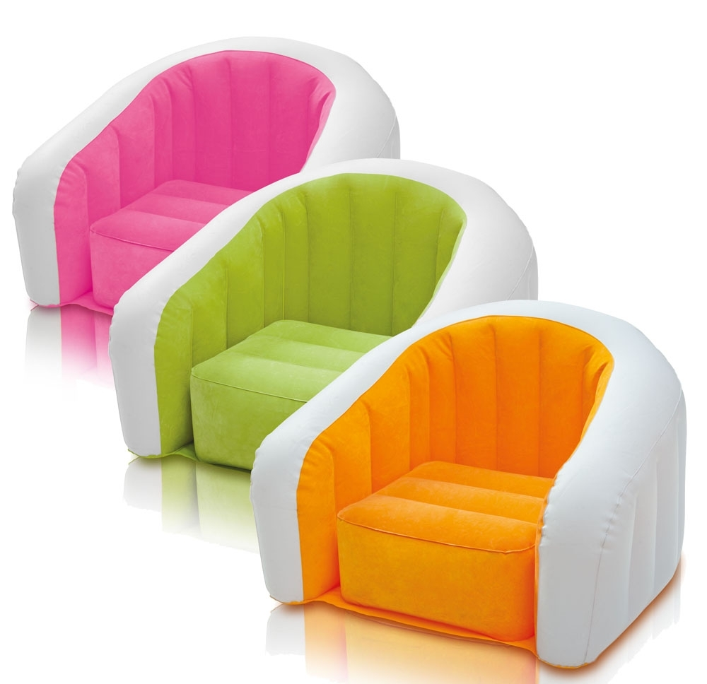Inflatable Sofas And Chairs Regarding Fashionable New Font B Inflatable Sofa Package Post Original Authentic U Type (Gallery 3 of 20)