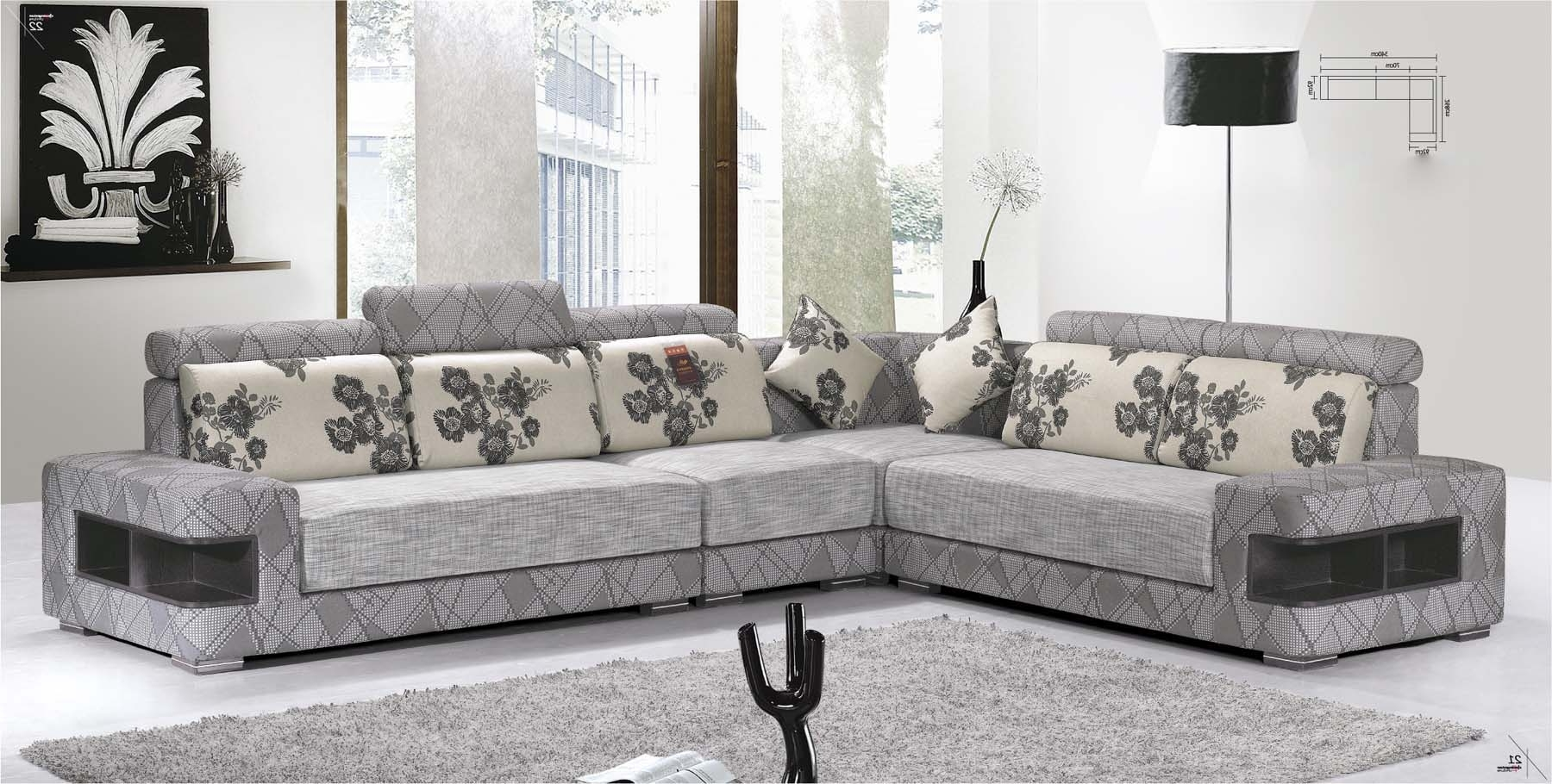 Inspiration Home Design And Decoration Intended For Contemporary Fabric Sofas (Gallery 12 of 20)