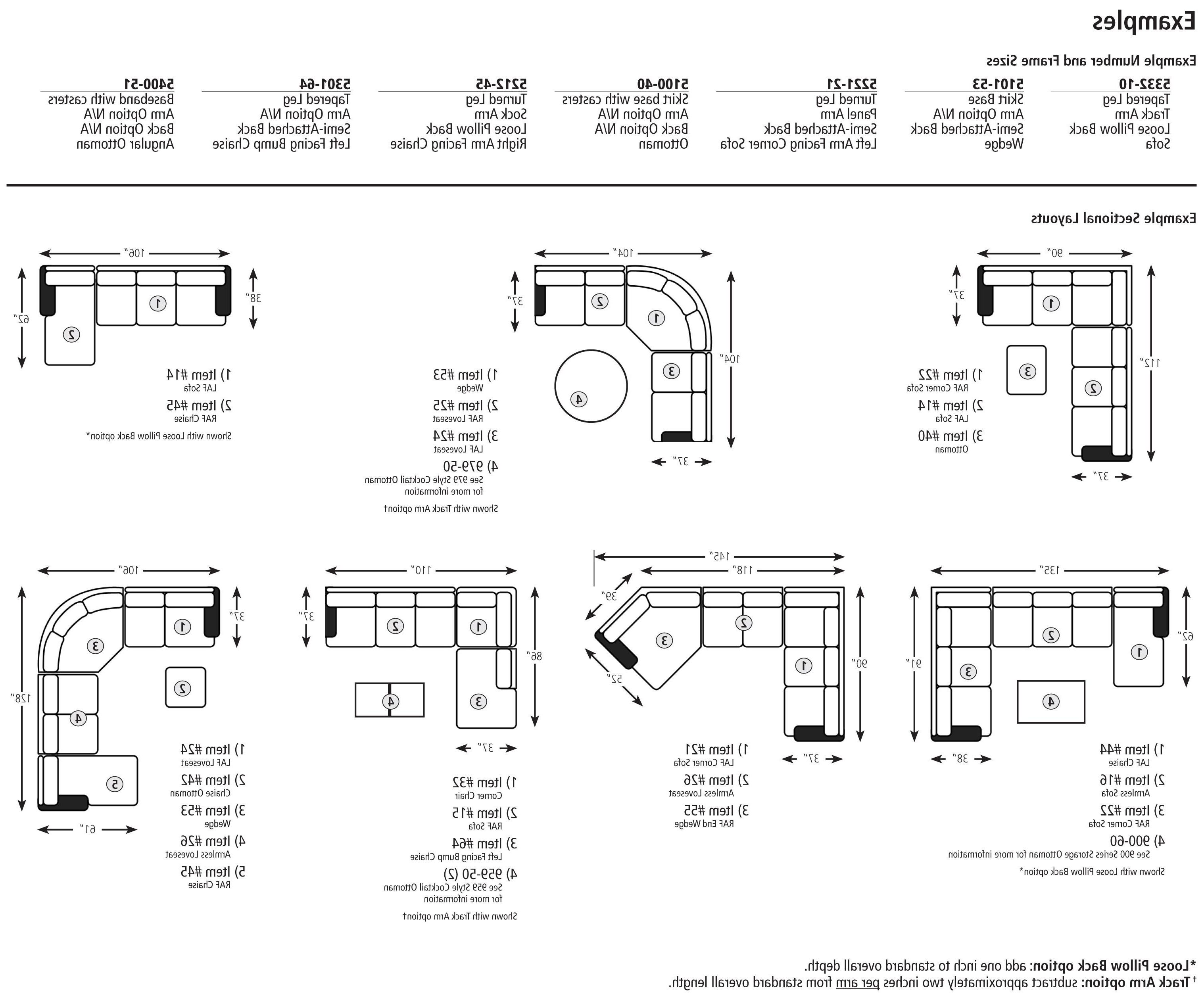 Inspirational Sectional Sofa Sizes 15 With Additional Sofas And Intended For Widely Used Sectional Sofas By Size (Gallery 1 of 20)