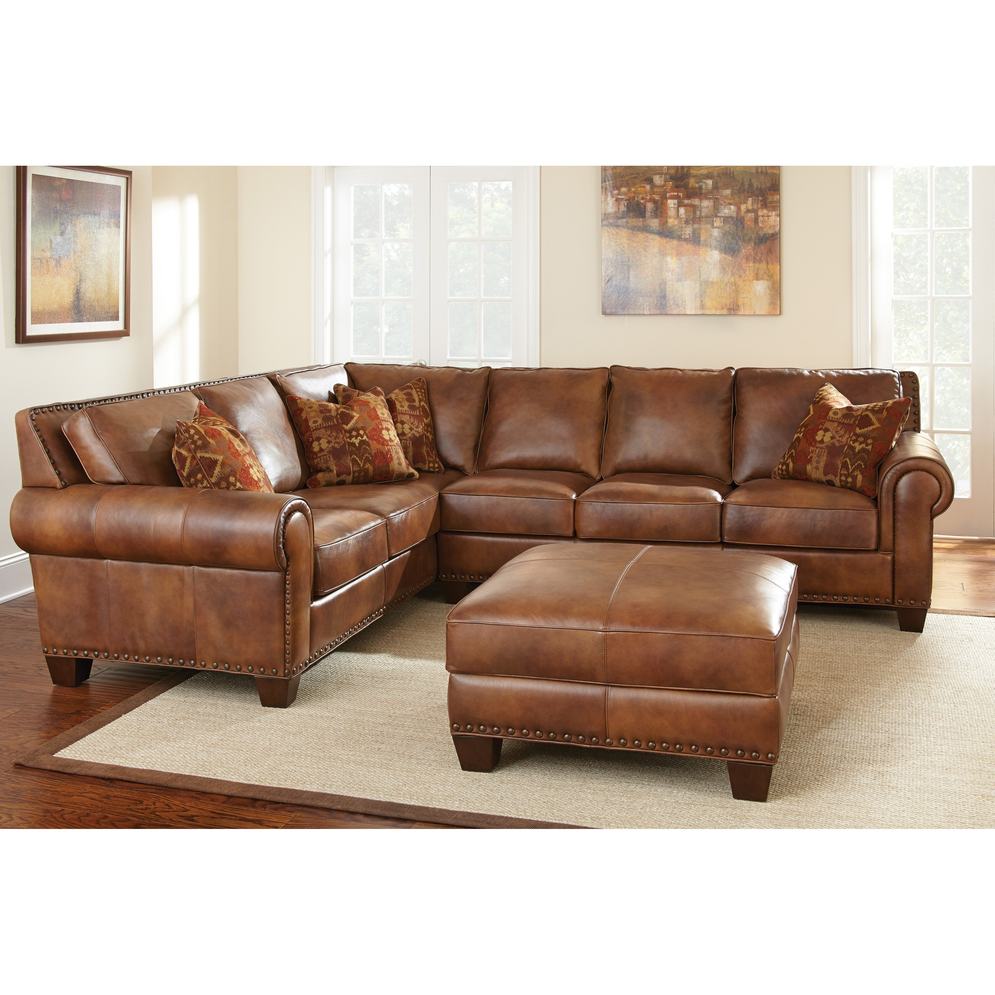 Ivan Smith Sectional Sofas With Well Known Have To Have It. Steve Silver Silverado Sectional Sofa With (Gallery 8 of 20)