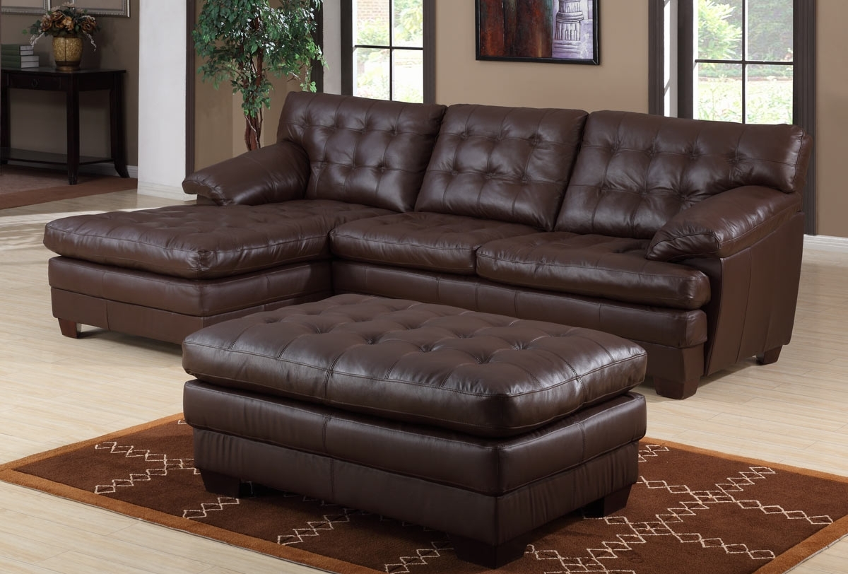 Jacksonville Florida Sectional Sofas Pertaining To Best And Newest Leather Sectional Sofa San Jose Leather Sectional Sofas In (View 6 of 20)