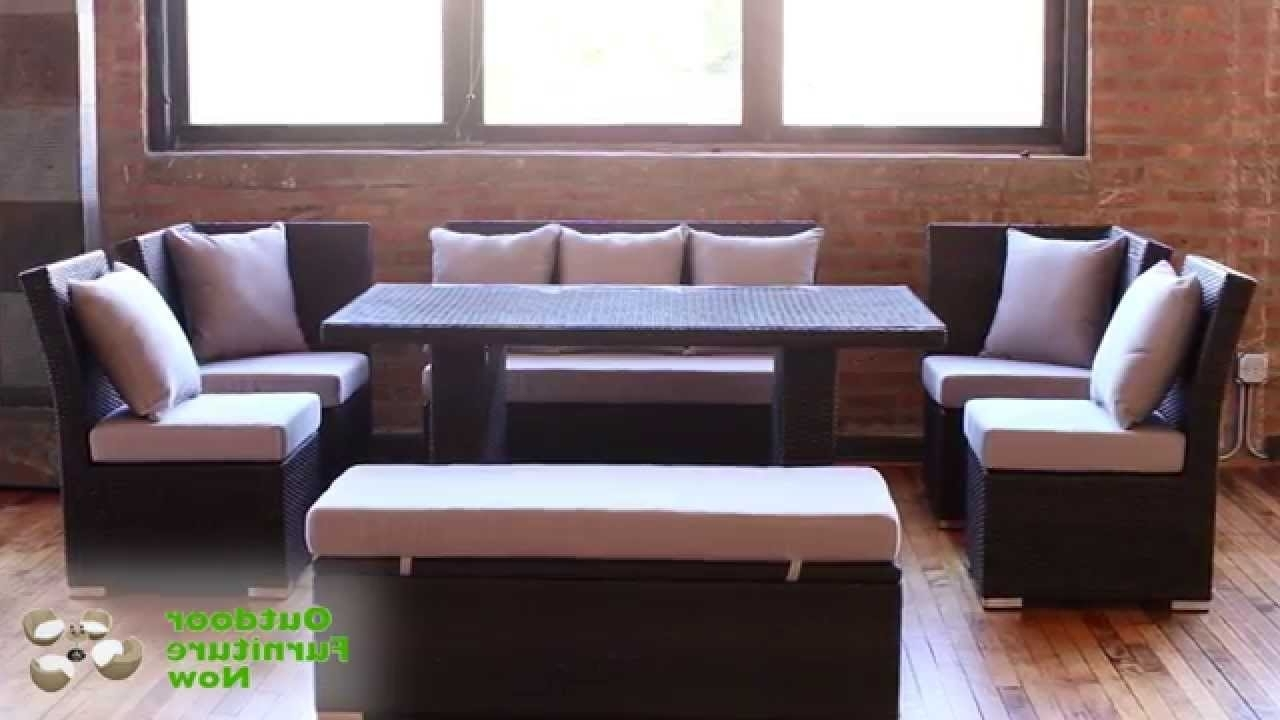 Jamaica Sectional Sofas In Well Liked Jamaican Multipurpose Sectional Dining And Sofa Set (View 2 of 20)