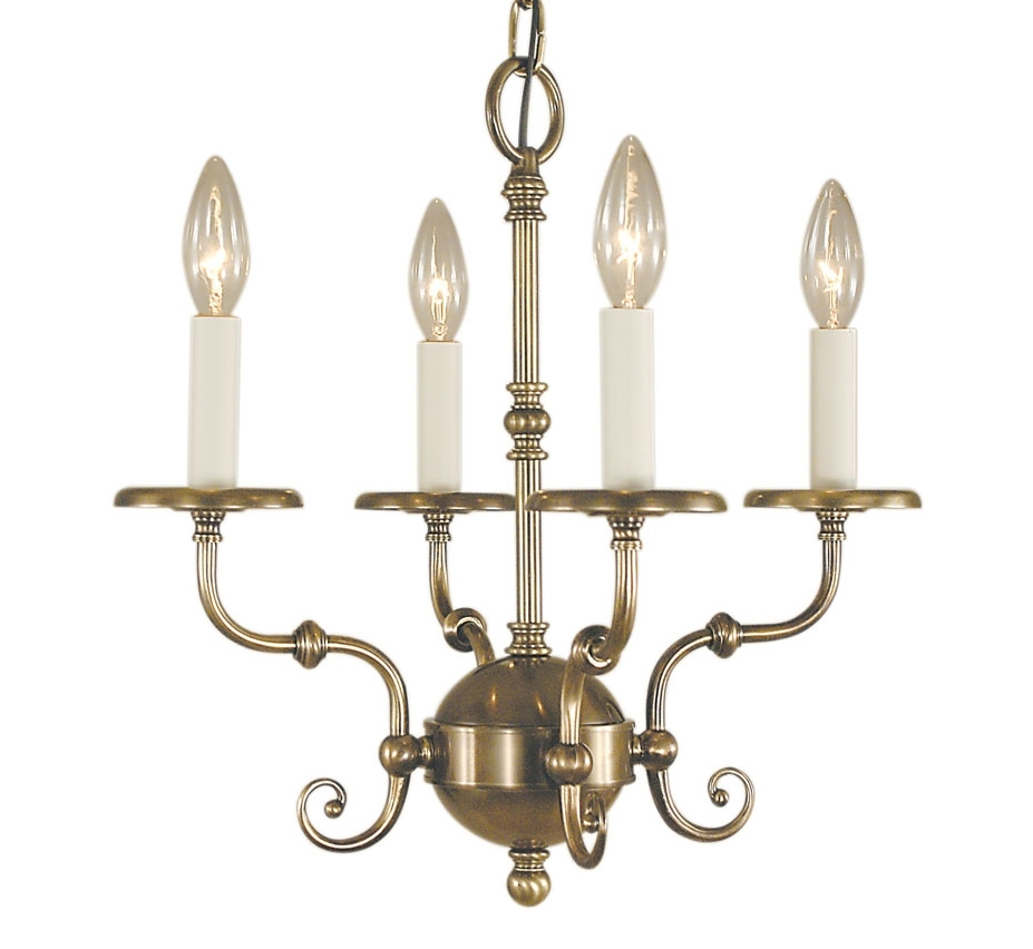 Jamestown Iv Collection 4 Light Medium Traditional Chandelier Throughout Fashionable Traditional Chandelier (View 11 of 20)