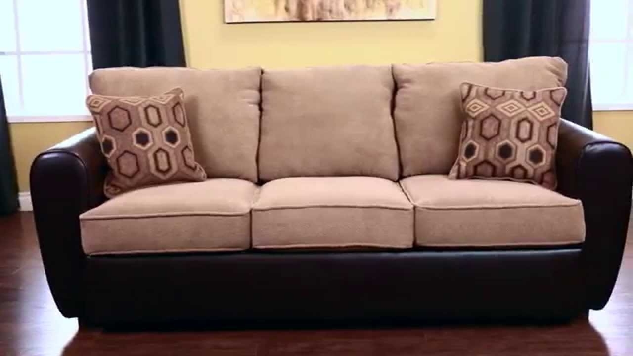 Jerome's Sectional Sofas With Most Recent Jerome's Furniture London Sofa Sleeper – Youtube (View 8 of 20)
