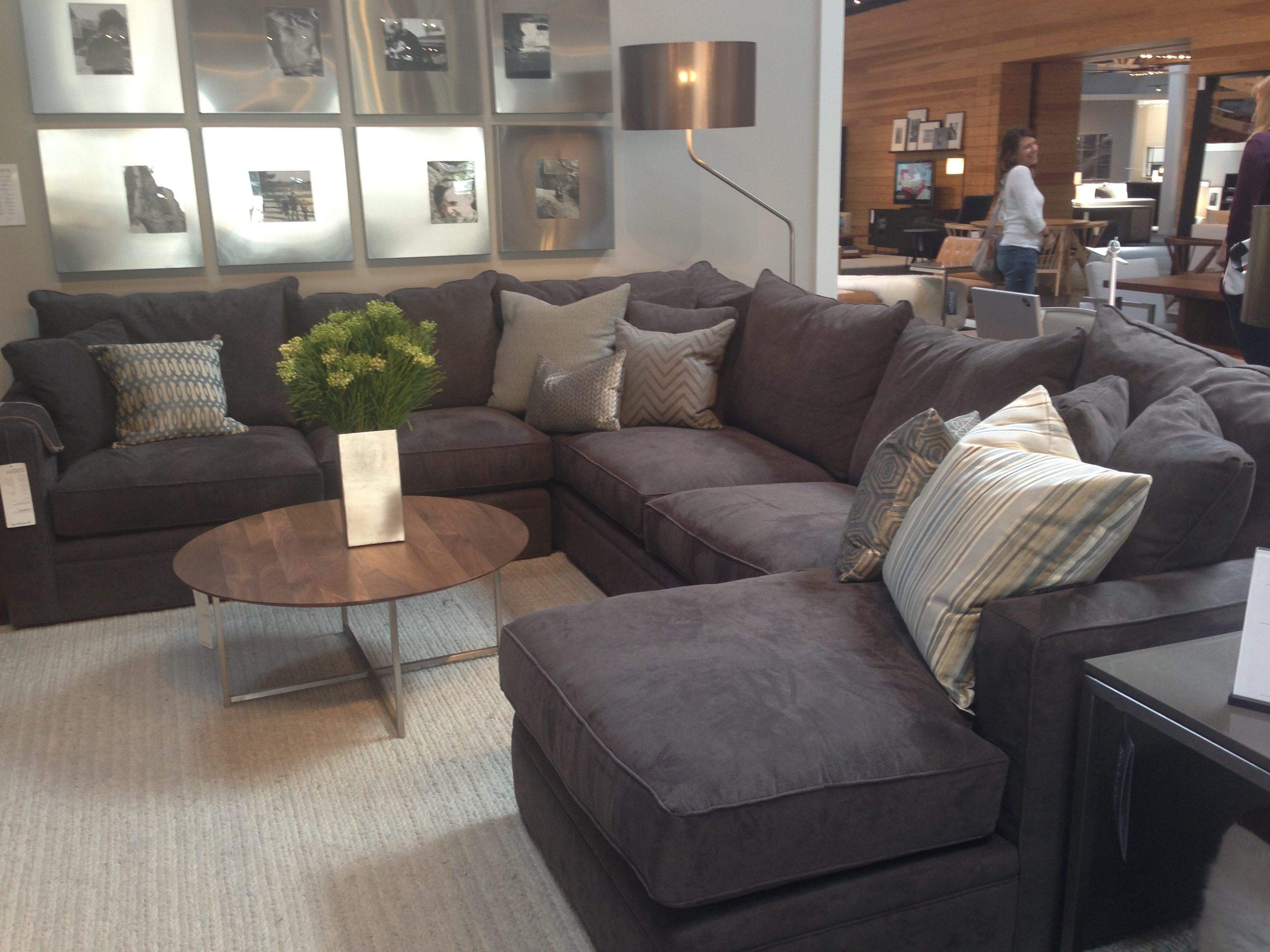 Kamloops Sectional Sofas Pertaining To Fashionable Feathers! This Is Our New Bram Sectional (View 13 of 20)