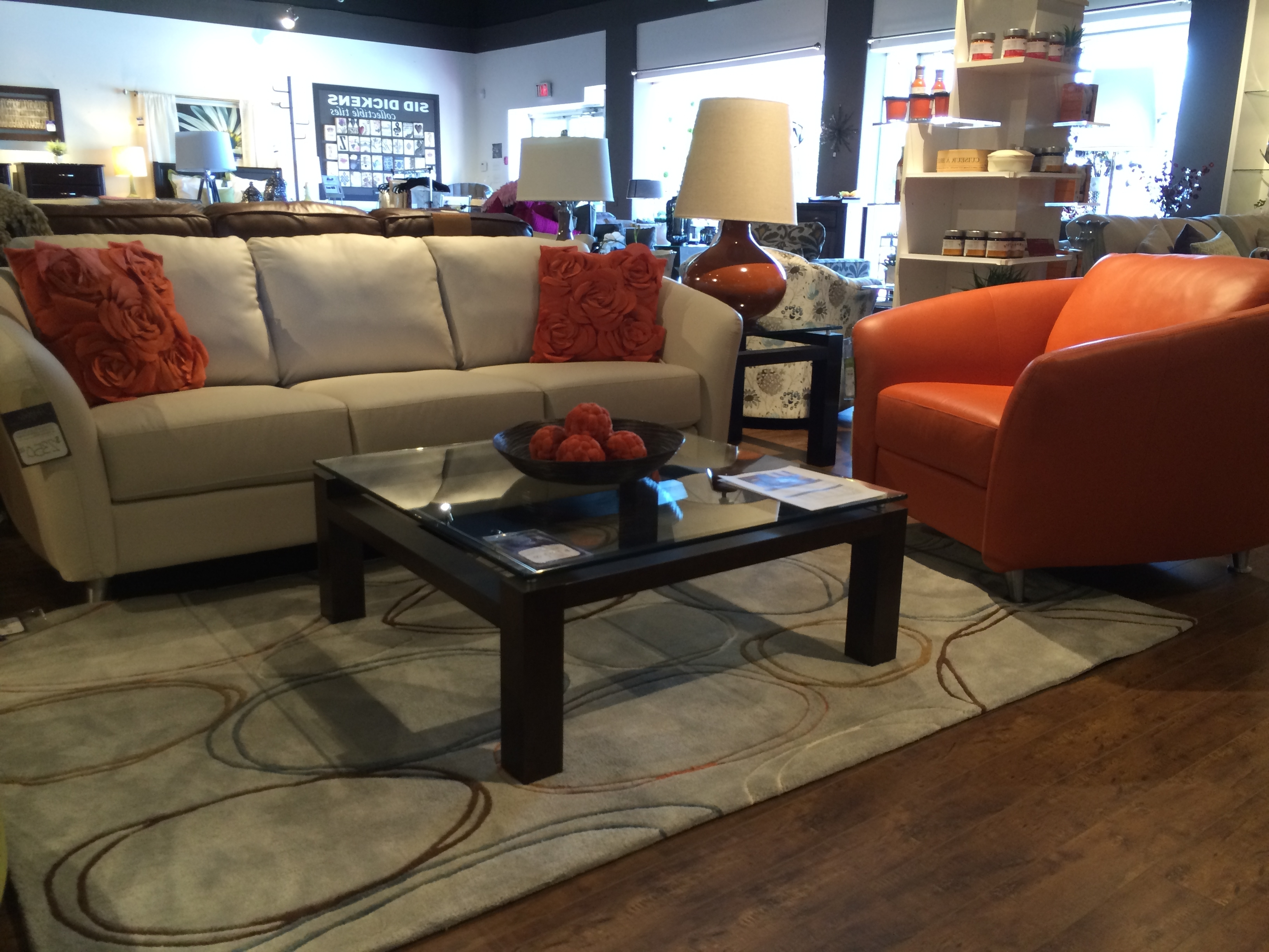 Kamloops Sectional Sofas With Recent Palliser's Alula Chair And Sofa (View 17 of 20)