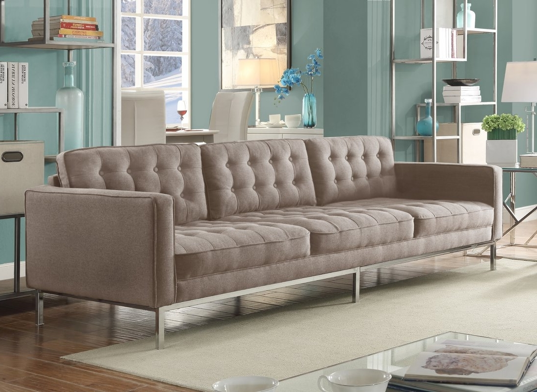 Kitchener Sectional Sofas Intended For Best And Newest Furniture : Green Tufted Chaise Lounge Furniture Making Ottawa (Gallery 2 of 20)