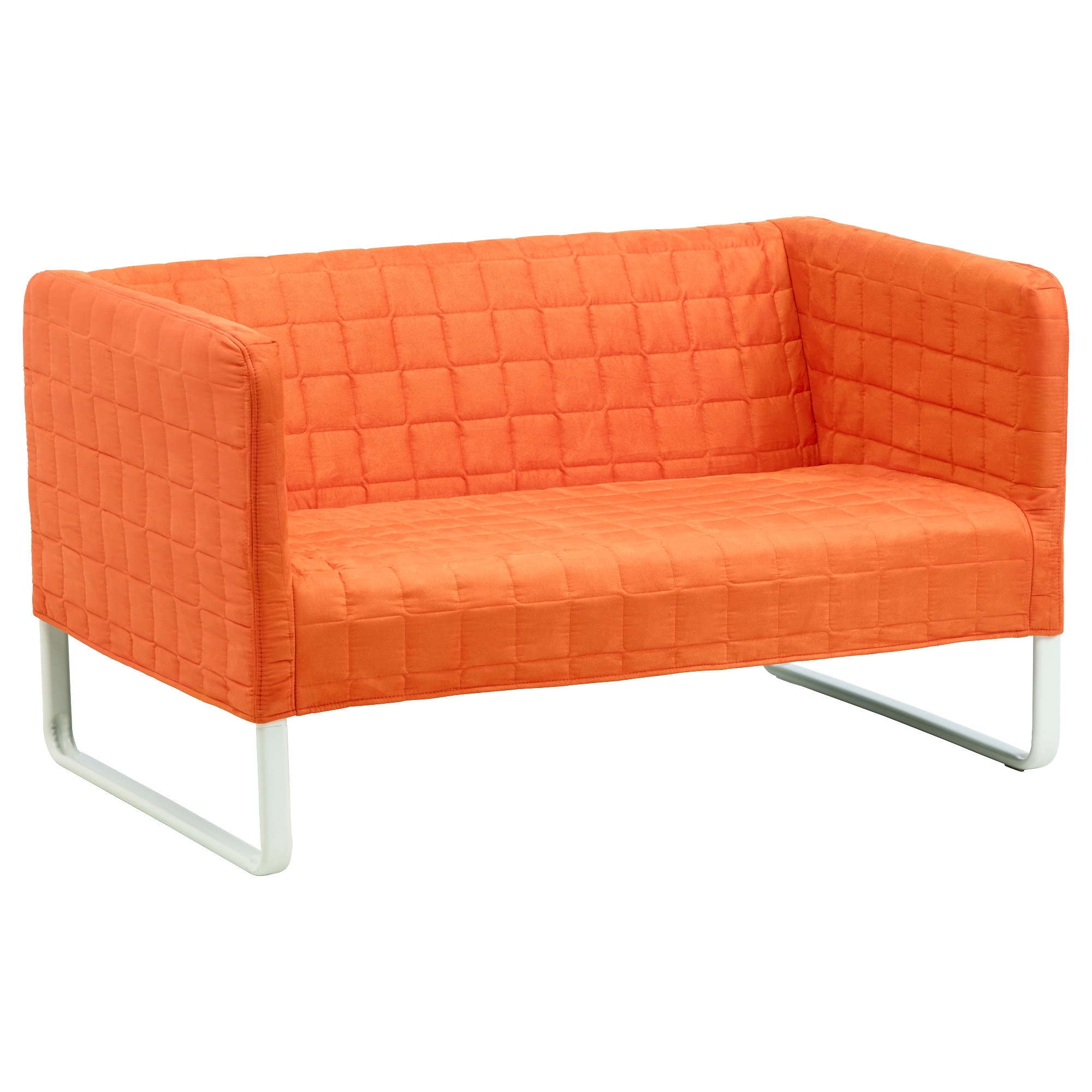 Knopparp 2 Seat Sofa Orange – Ikea In Current Small 2 Seater Sofas (View 3 of 20)