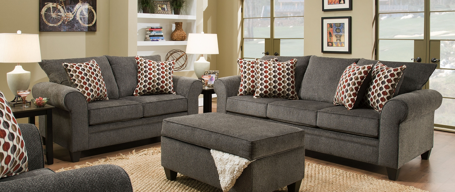 Knoxville Tn Sectional Sofas With Regard To Popular Simmons Furniture Store Near Me (View 8 of 20)