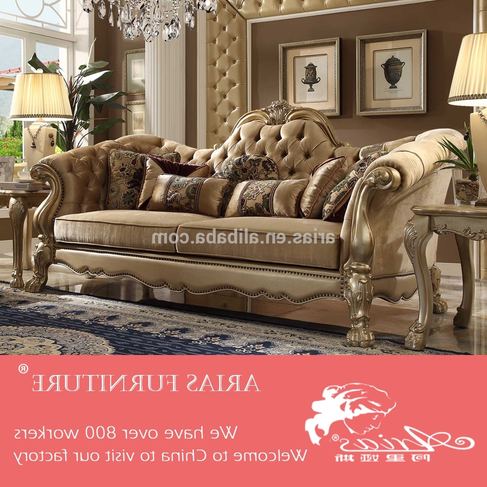 Korean Leather Sofa Wholesale, Leather Sofa Suppliers – Alibaba Throughout Most Up To Date Old Fashioned Sofas (View 6 of 20)