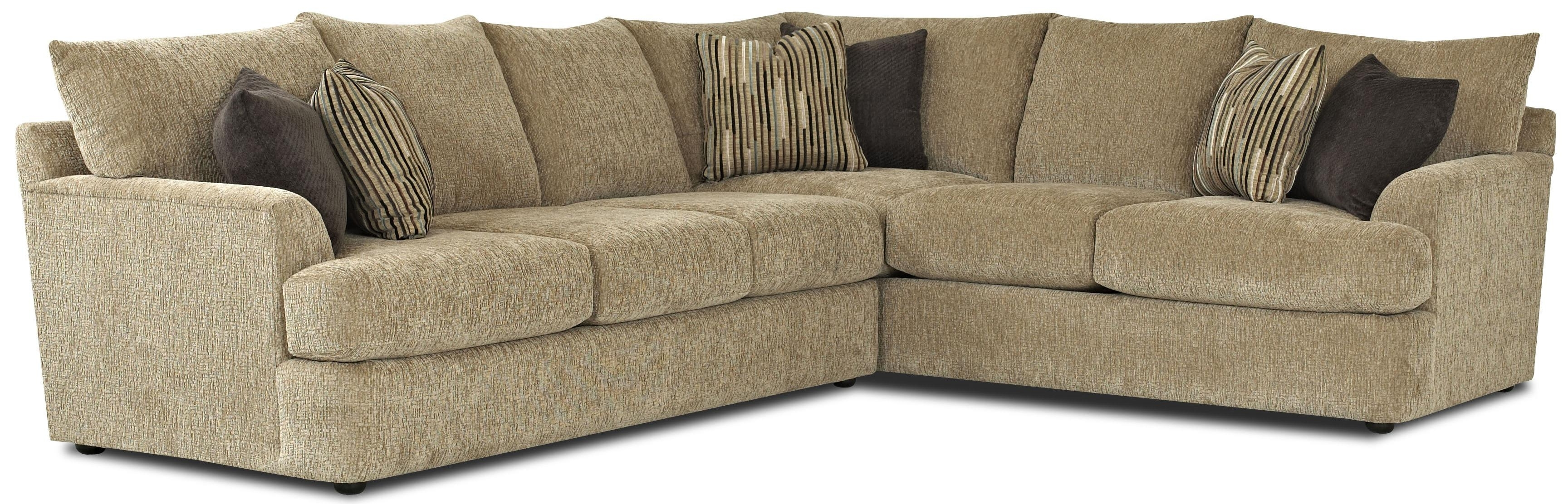 L Shaped Sectional Sofas With Regard To Widely Used Contemporary L Shaped Sectional Sofaklaussner (View 6 of 20)