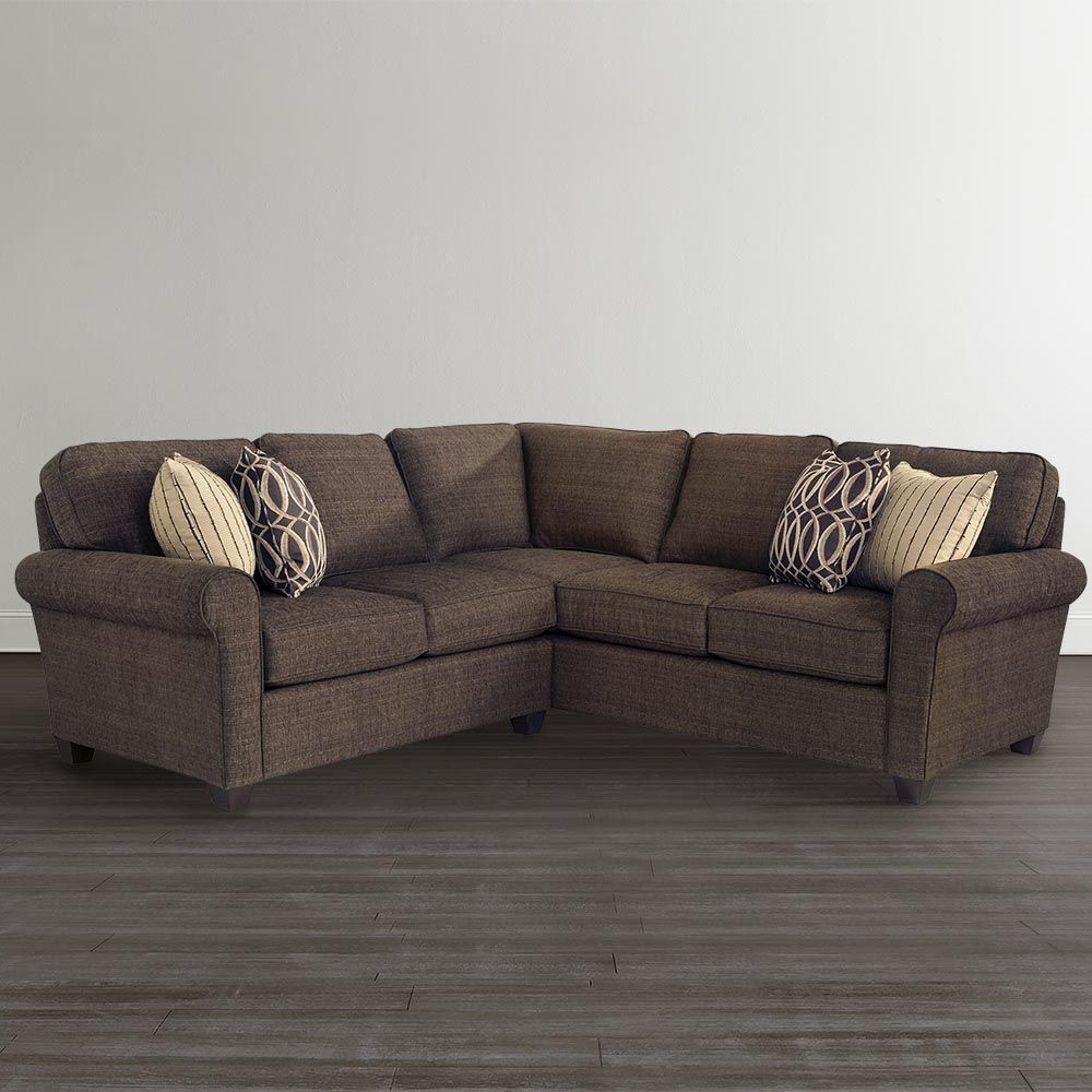 "L Shaped Sectionalbassett Furniture, 94"" X 91"", $1999, Bassett Throughout Recent Macon Ga Sectional Sofas (View 7 of 20)"