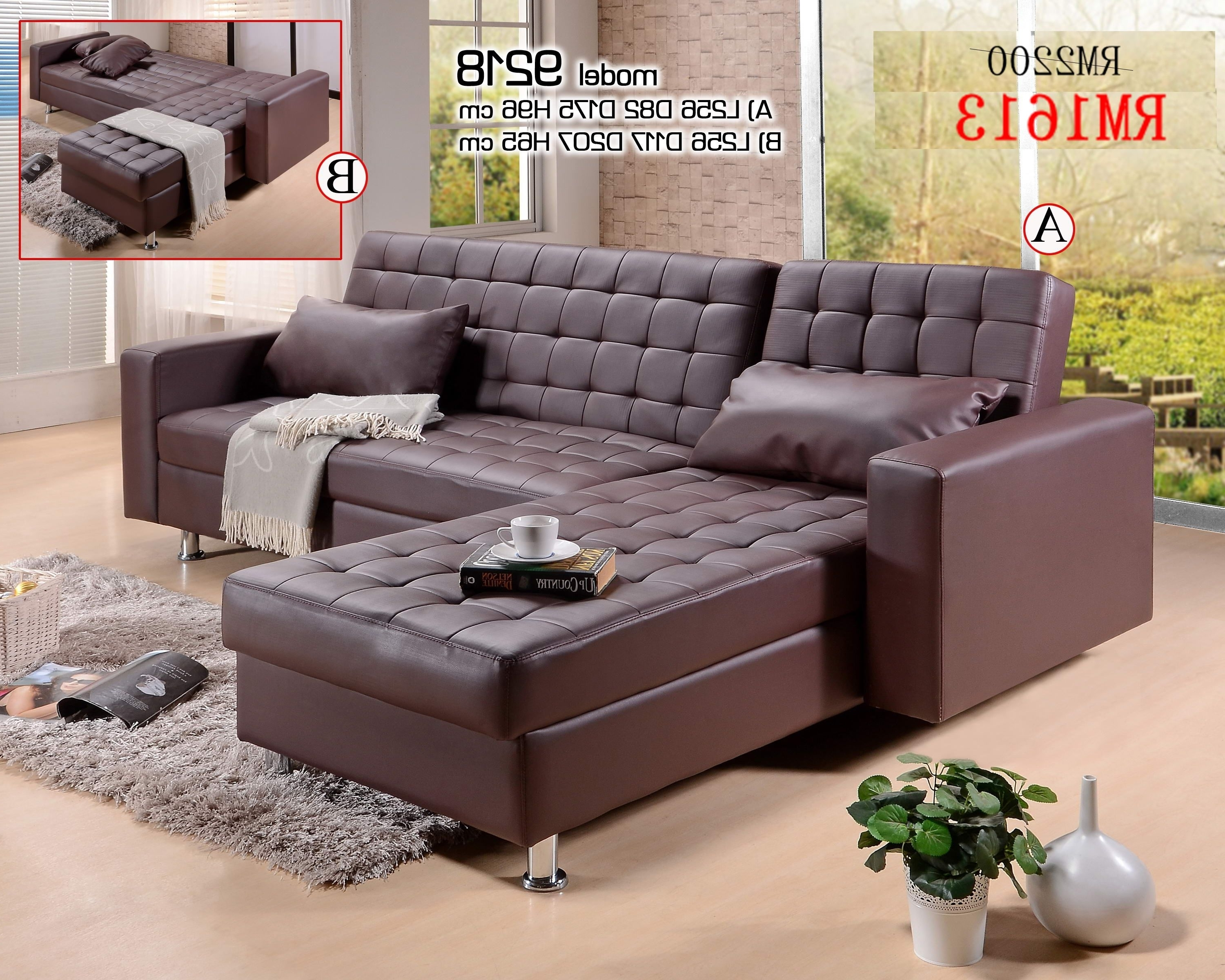 L Shaped Sofas Within Current L Shaped Sofa Bed, Sofa Bed Sale, Sofa Bed In Malaysia, Sofa Katil (View 9 of 20)