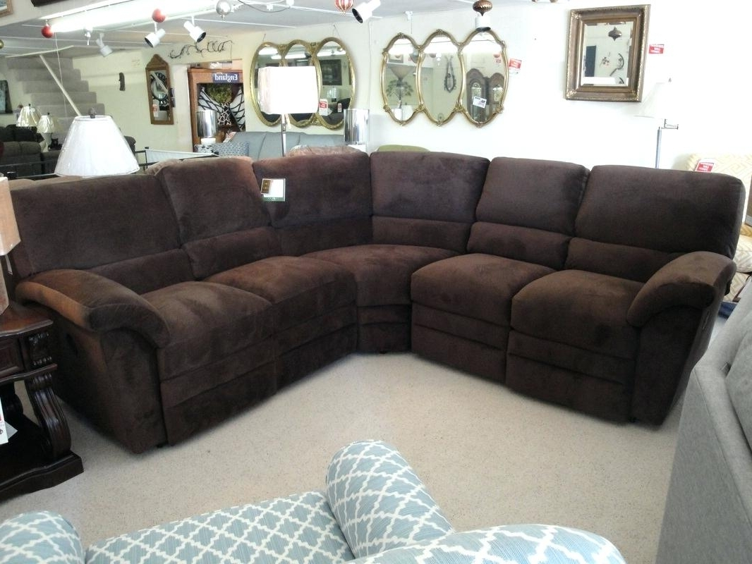 La Z Boy Sectional Sofas With Regard To Well Liked Lazy Boy Sectional  Recliner La Z