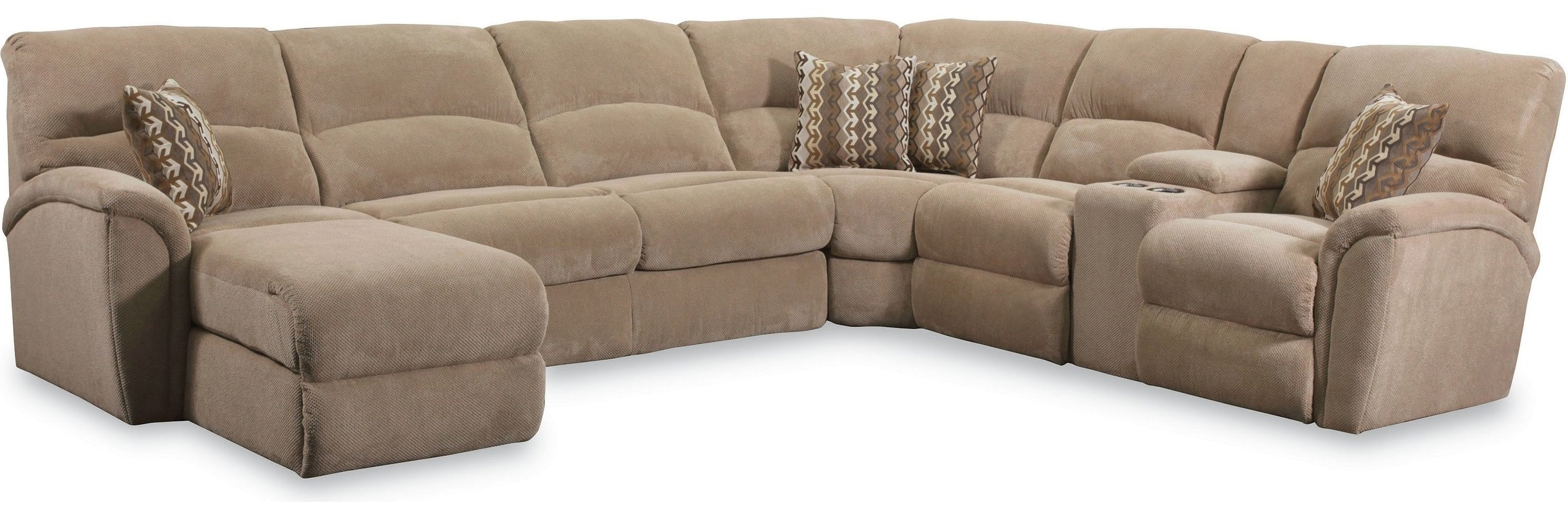 Lane Furniture Grand Torino Reclining Sectional & Reviews (View 12 of 20)